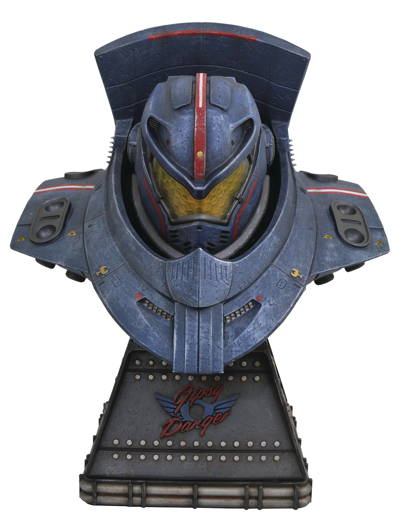 LEGENDS IN 3D MOVIE PACIFIC RIM GYPSY DANGER 1/2 SCALE BUST