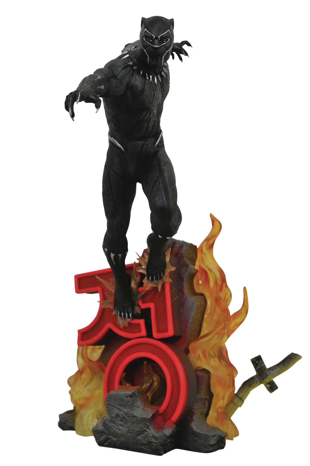 MARVEL PREMIERE BLACK PANTHER MOVIE STATUE