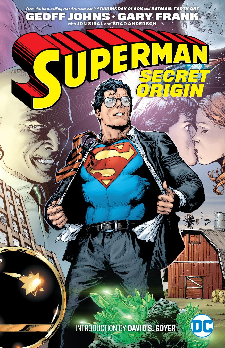 SUPERMAN SECRET ORIGIN TP NEW ED