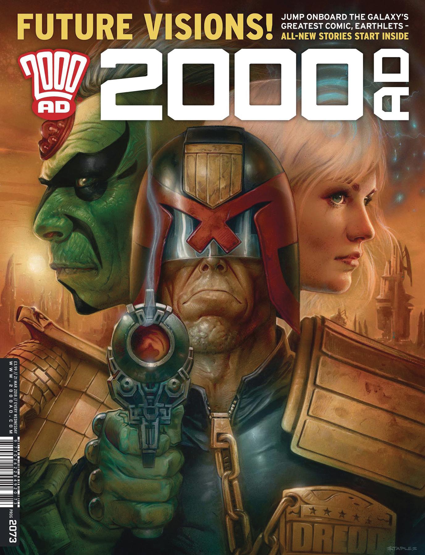 2000 AD PROG #2100 SPECIAL