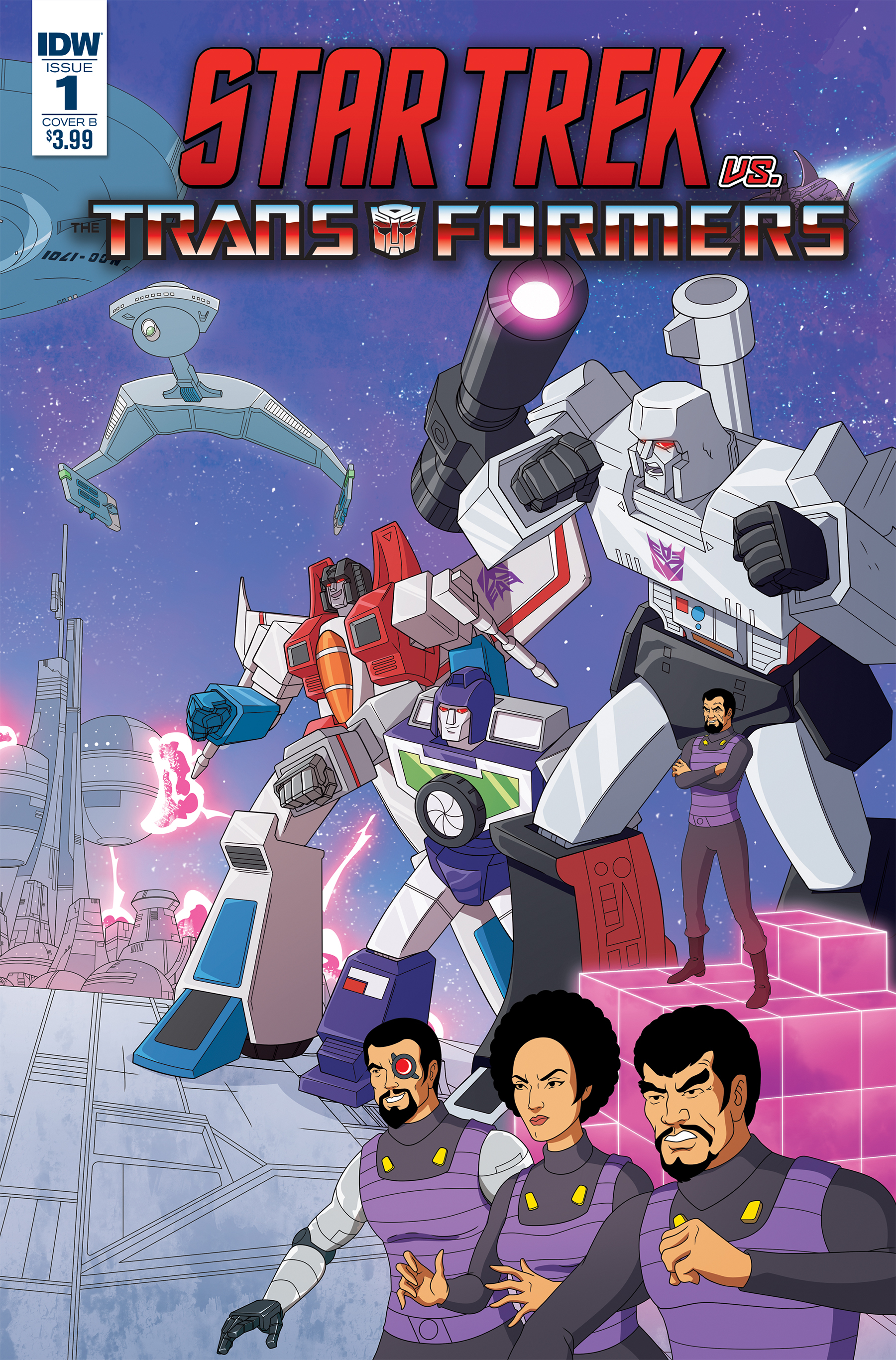 STAR TREK VS TRANSFORMERS #1 (OF 4) CVR B MURPHY