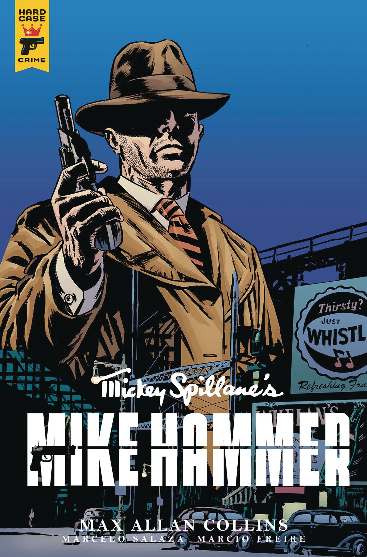MIKE HAMMER #4 CVR B CHATER