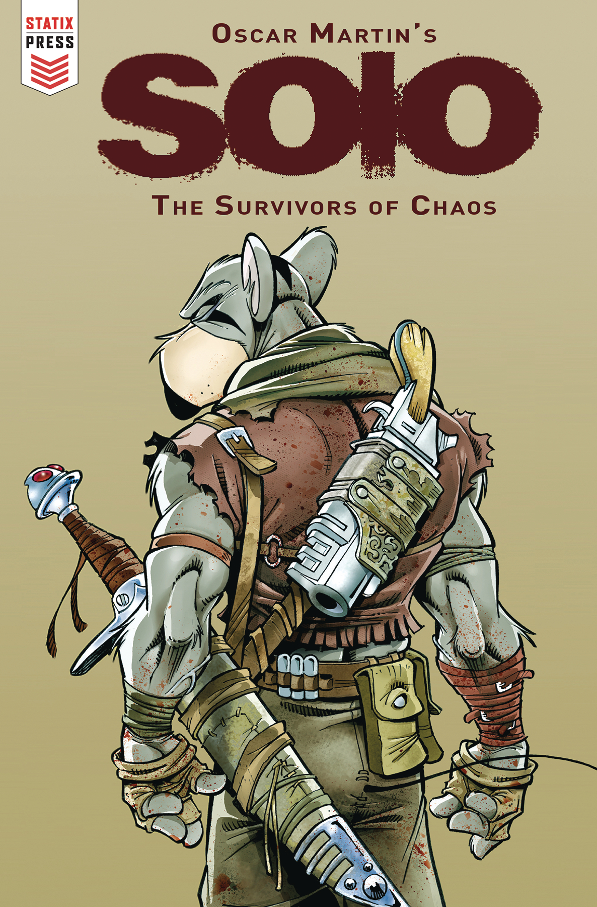 OSCAR MARTIN SOLO SURVIVORS OF CHAOS #1