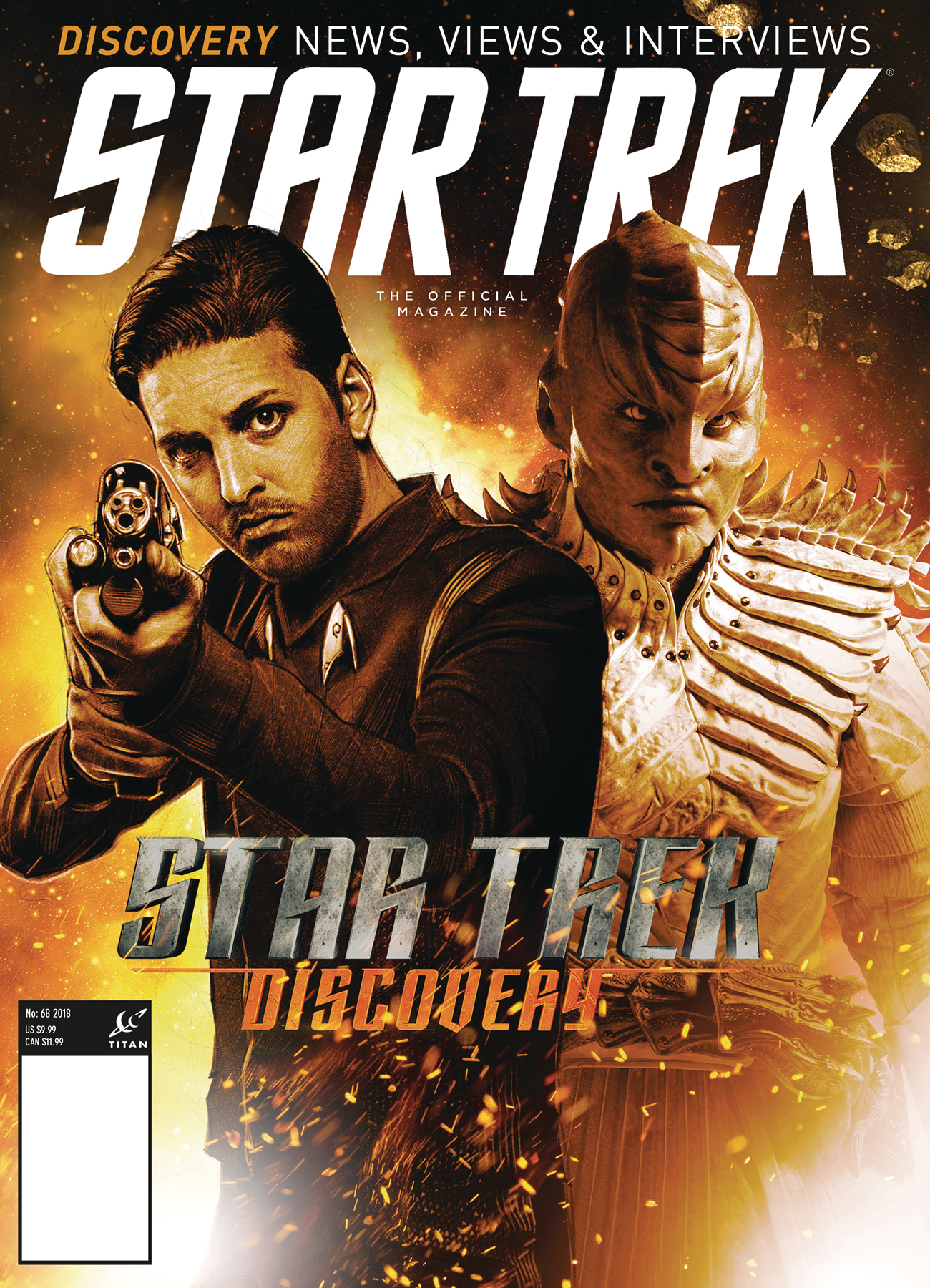 STAR TREK MAGAZINE #68 PX