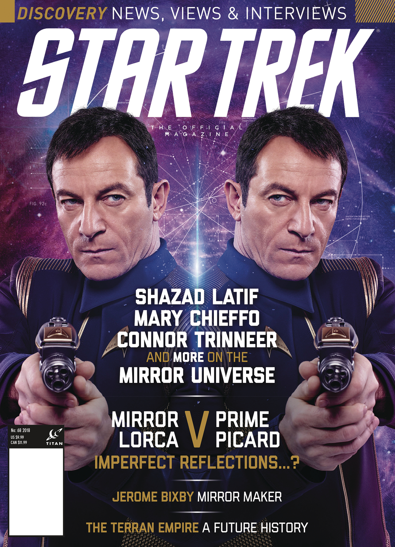 STAR TREK MAGAZINE #68 NEWSTAND ED