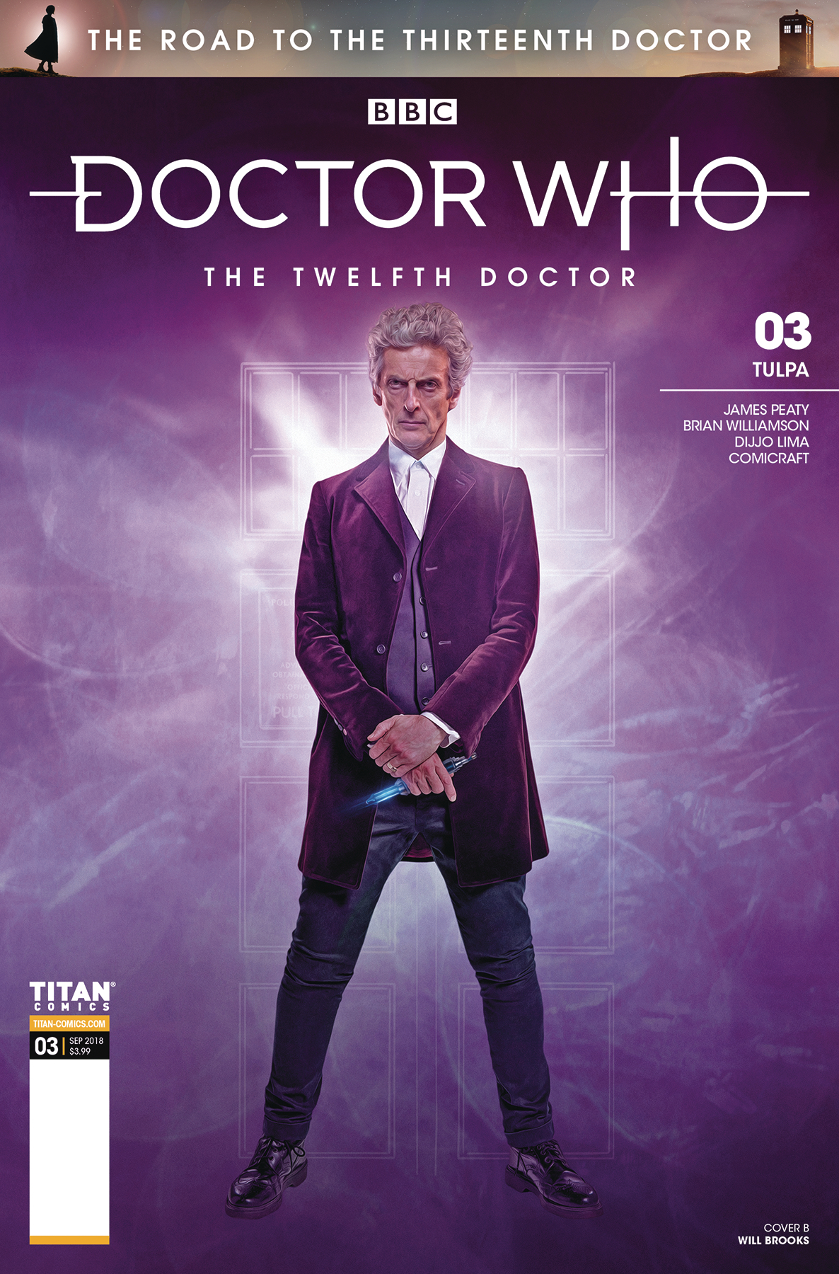 DOCTOR WHO ROAD TO 13TH DR #3 12TH CVR B PHOTO