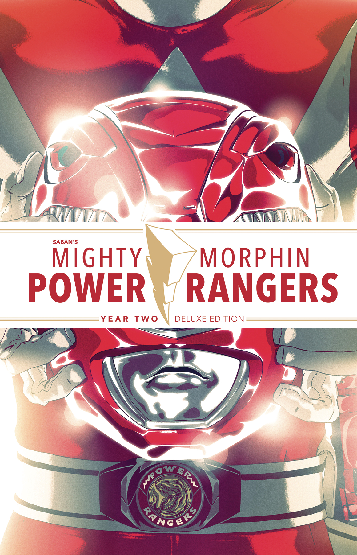 MIGHTY MORPHIN POWER RANGERS DLX HC YEAR TWO
