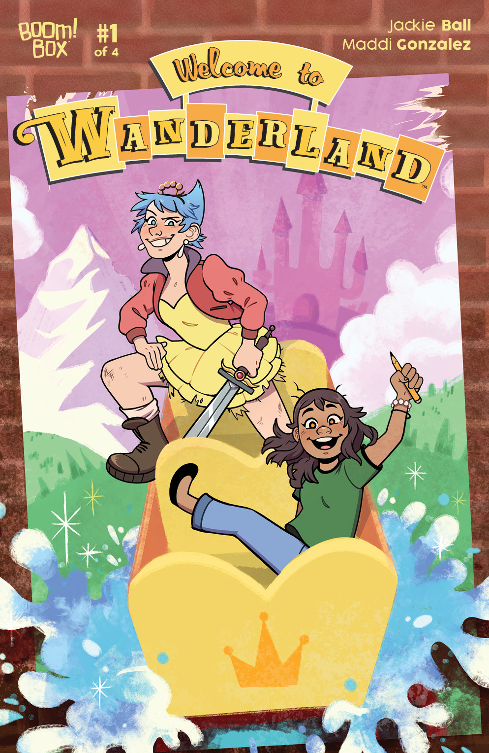 WELCOME TO WANDERLAND #1 (OF 4)