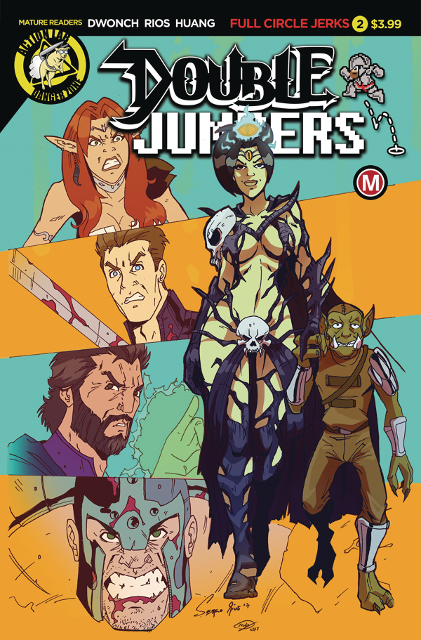 DOUBLE JUMPERS FULL CIRCLE JERKS #2 (OF 4) CVR A RIOS