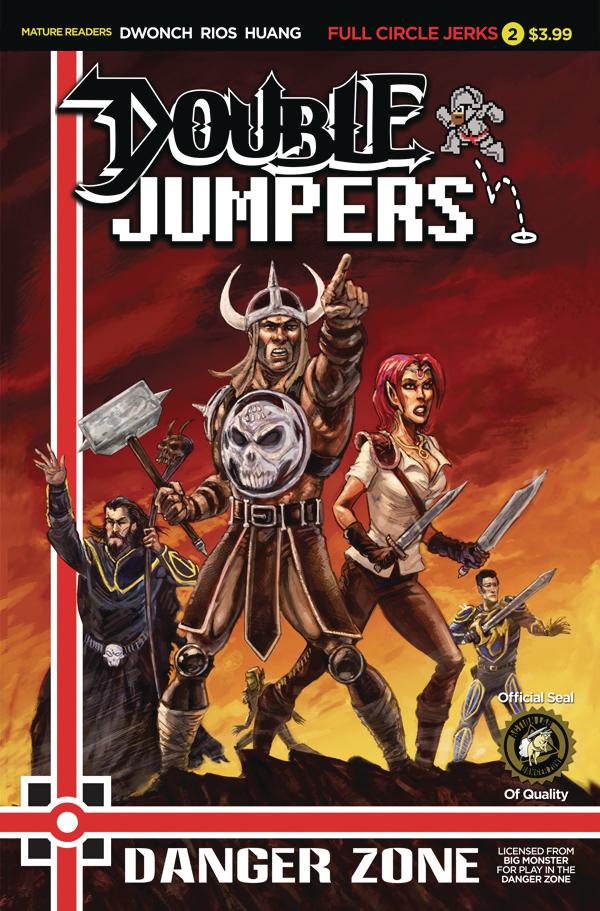 DOUBLE JUMPERS FULL CIRCLE JERKS #2 (OF 4) CVR B LOGAN
