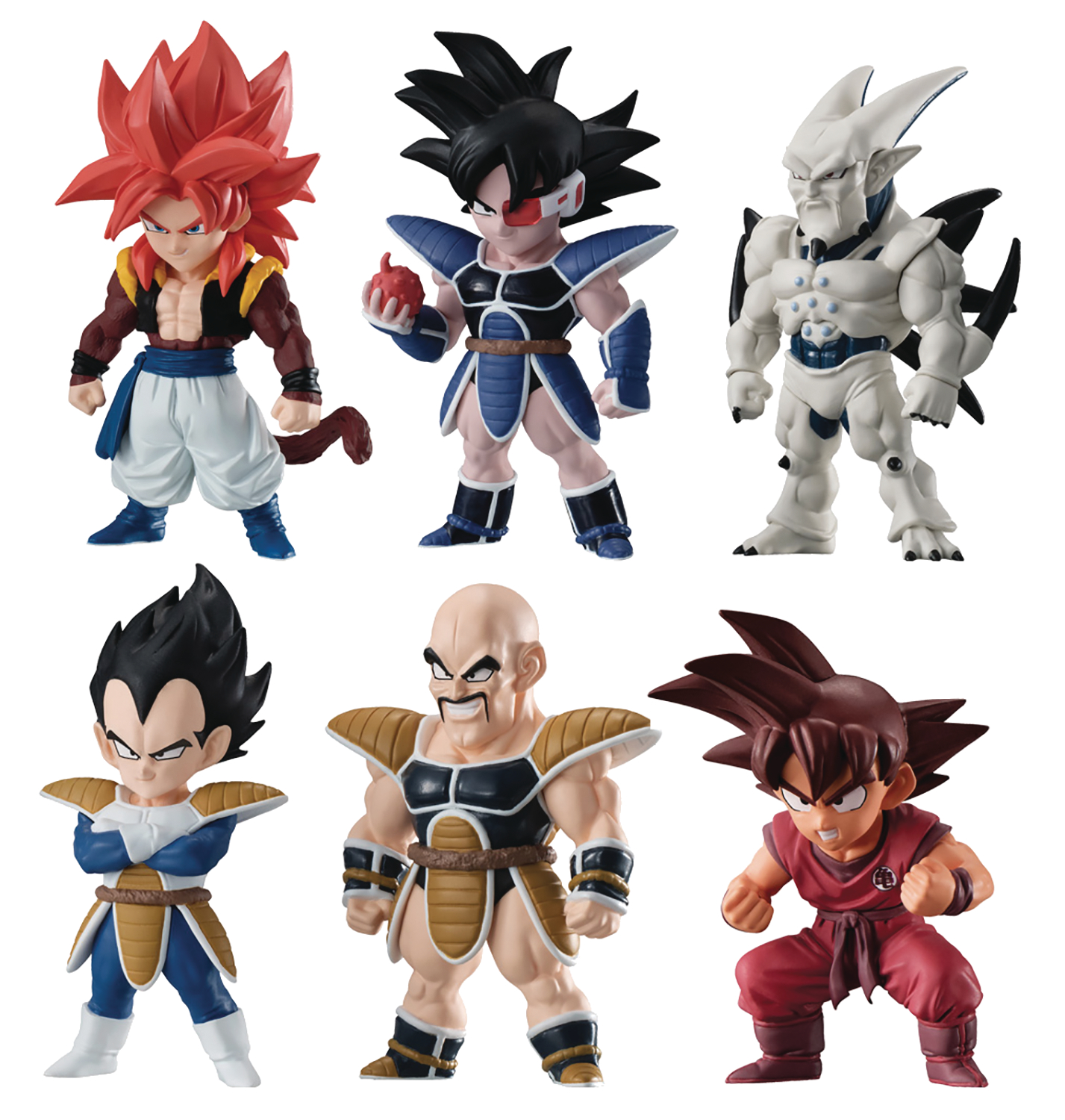 DRAGON BALL SUPER ADVERGE 8 10PC MINI FIG DIS