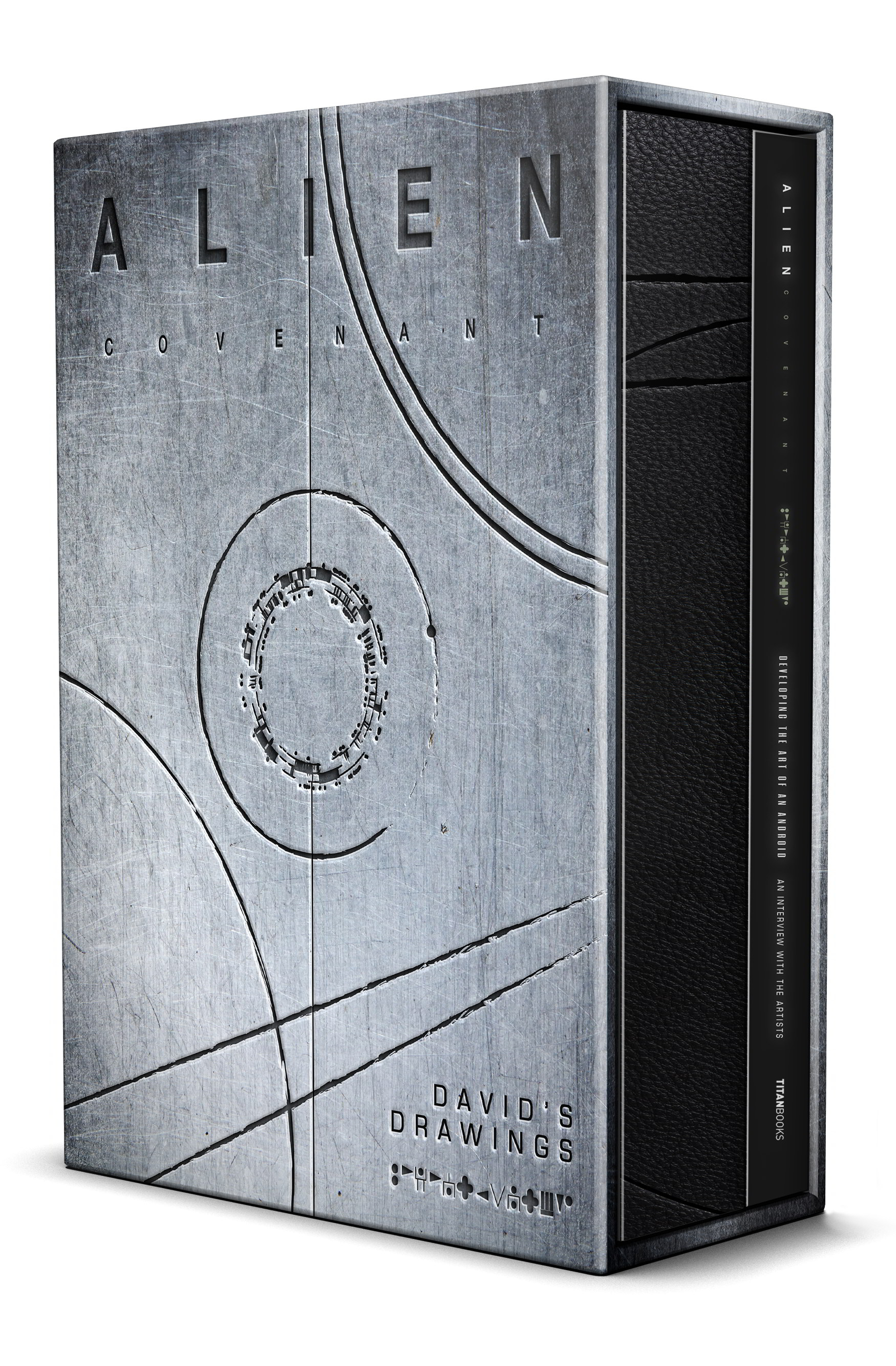 ALIEN COVENANT DAVIDS DRAWINGS SLIPCASED HC