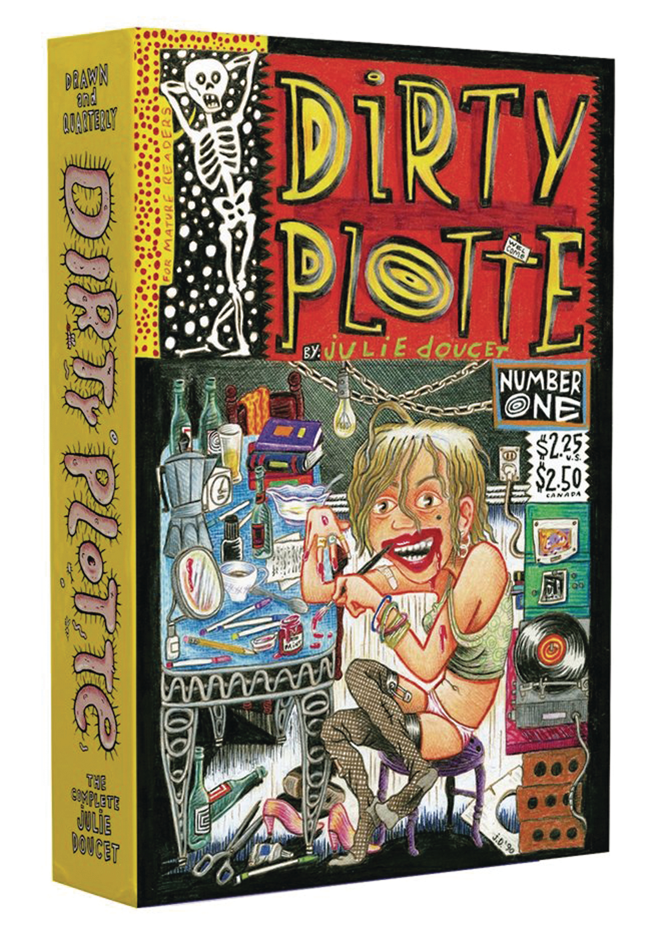 DIRTY PLOTTE GN BOX SET COMPLETE JULIE DOUCET