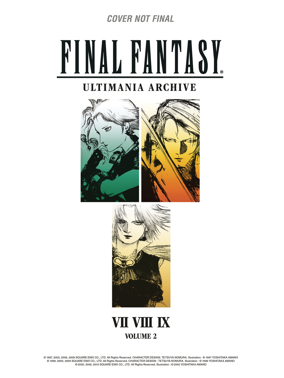 FINAL FANTASY ULTIMANIA ARCHIVE HC VOL 02 (JUL180505)
