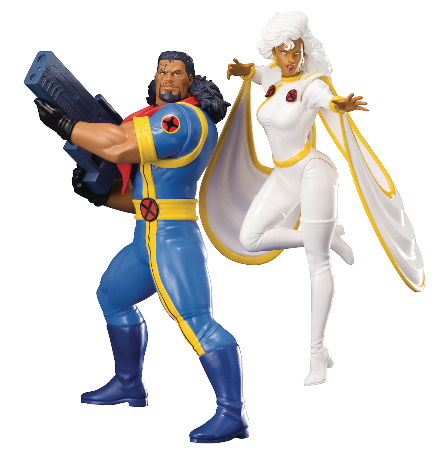 MARVEL UNIVERSE X-MEN 92 BISHOP & STORM 2PK ARTFX+ STATUE (C