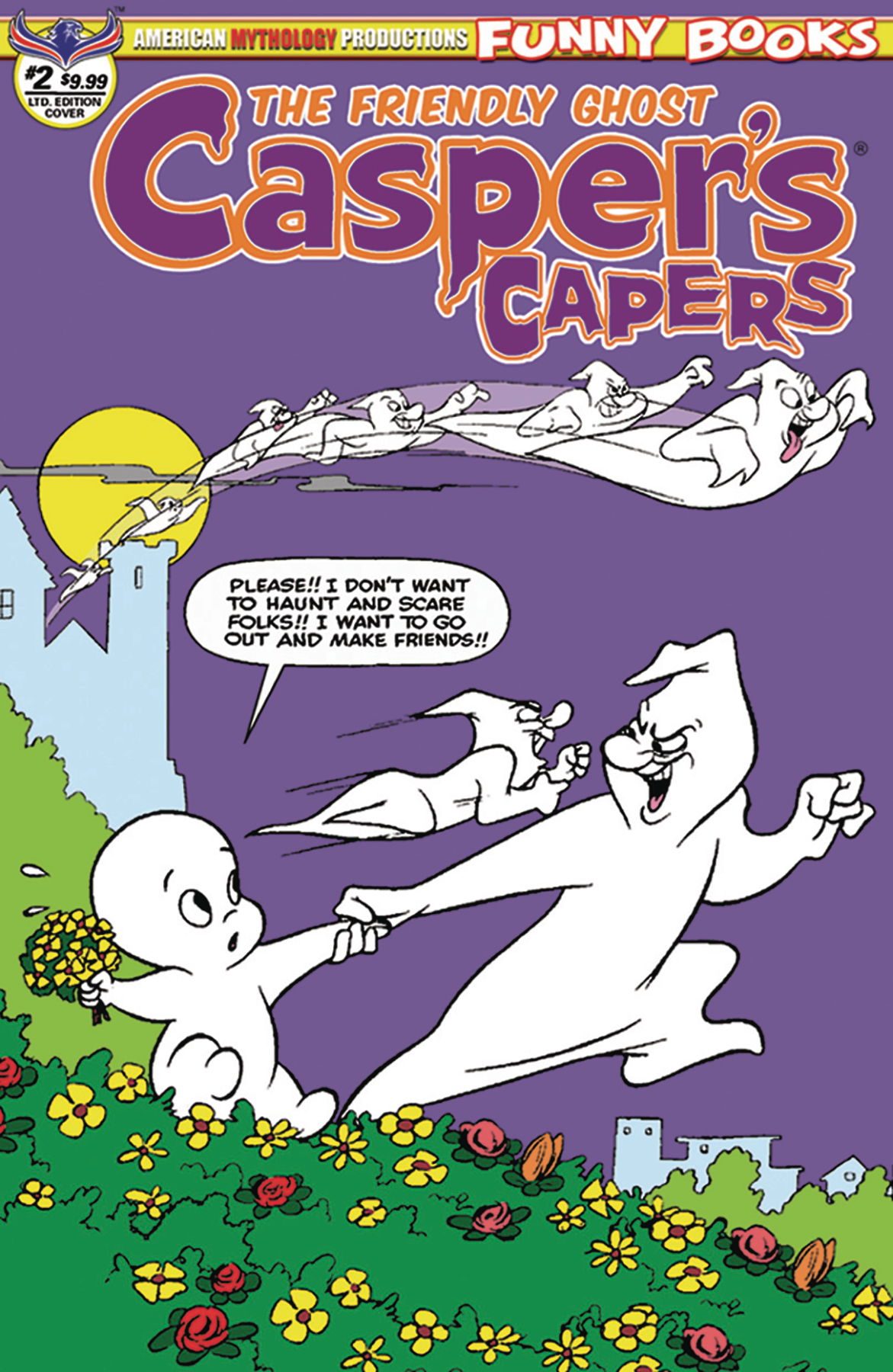 CASPER CAPERS #2 KREMER VINTAGE LTD ED CVR