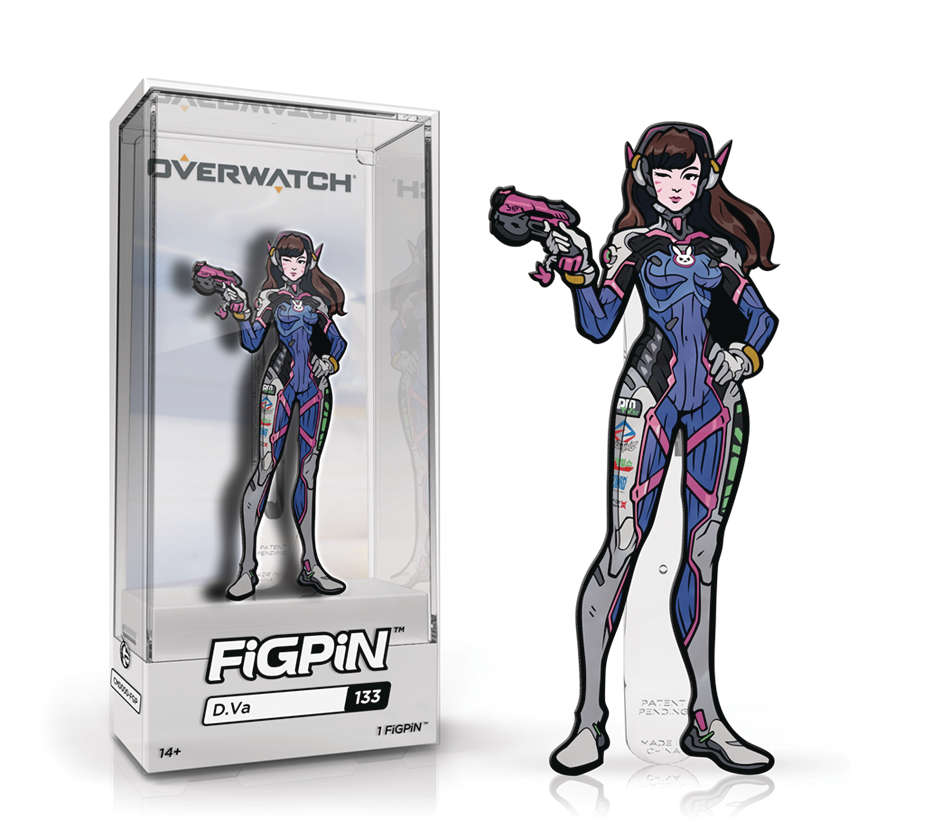 FIGPIN OVERWATCH D.VA PIN 6PC CASE