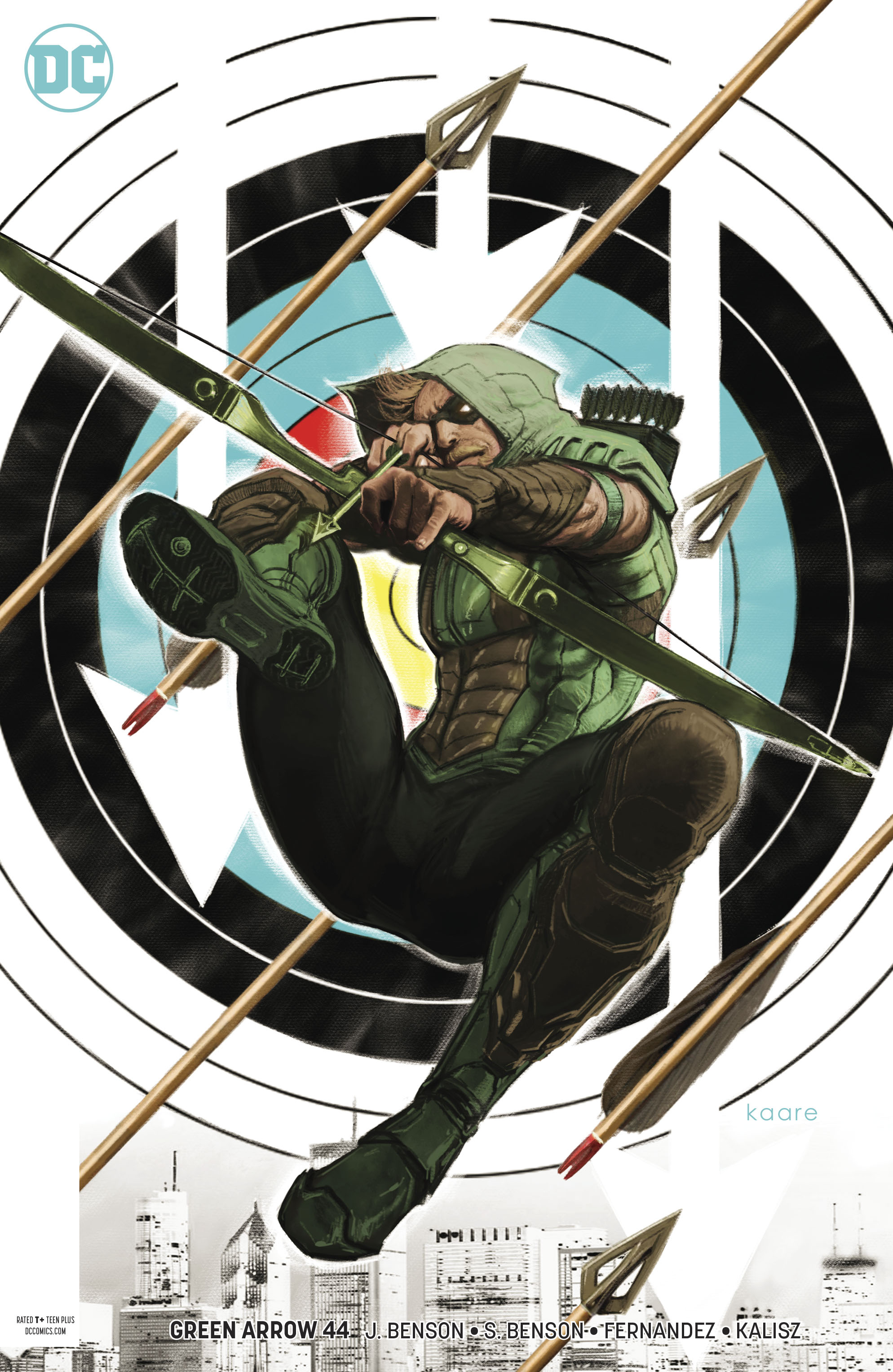 GREEN ARROW #44 VAR ED