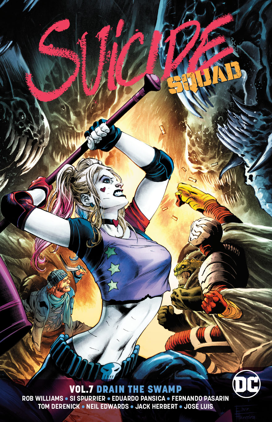 SUICIDE SQUAD TP VOL 07 DRAIN THE SWAMP REBIRTH