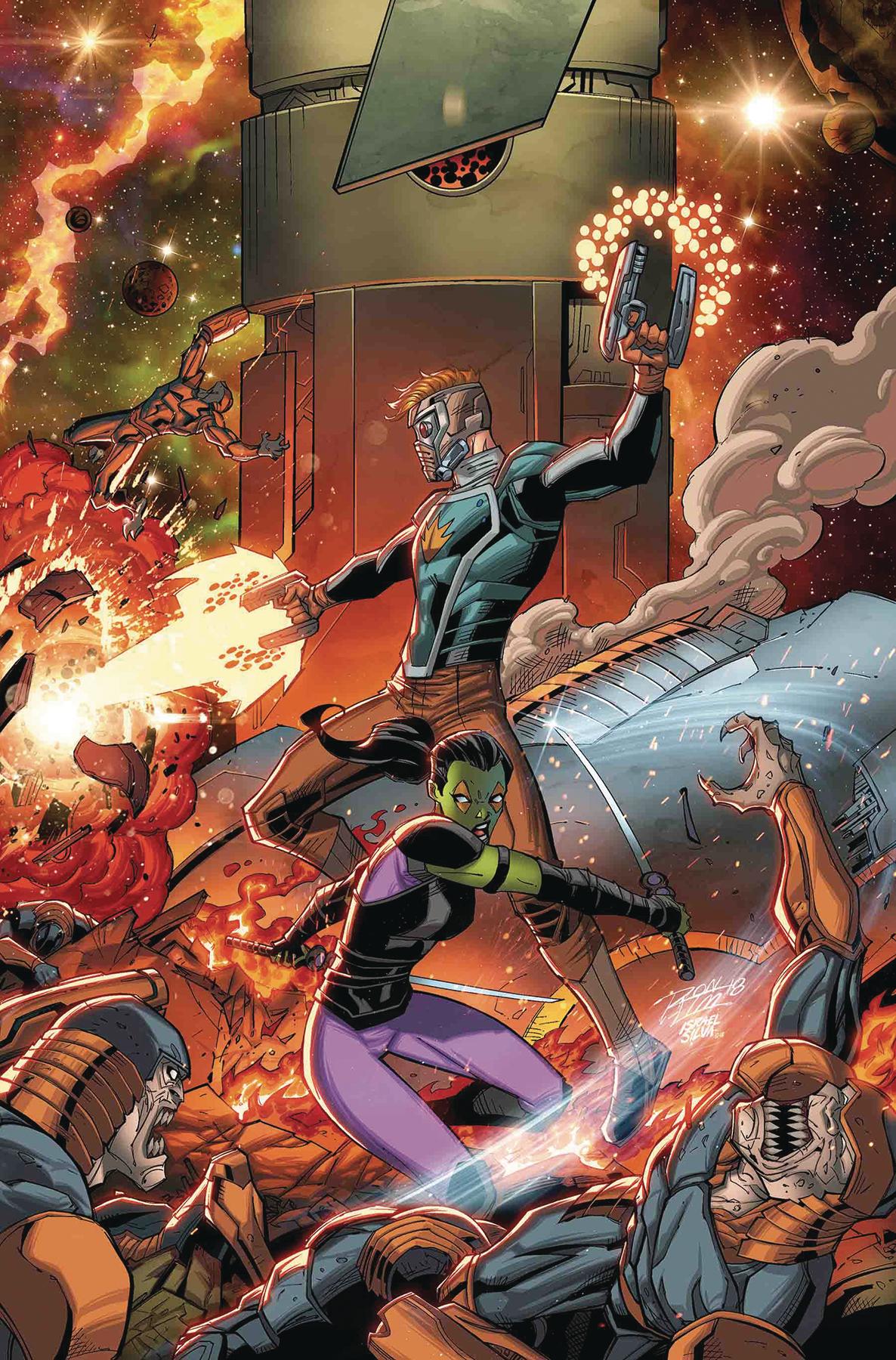 Capa de Infinity Wars #3 pelo lendário Rom Lim!