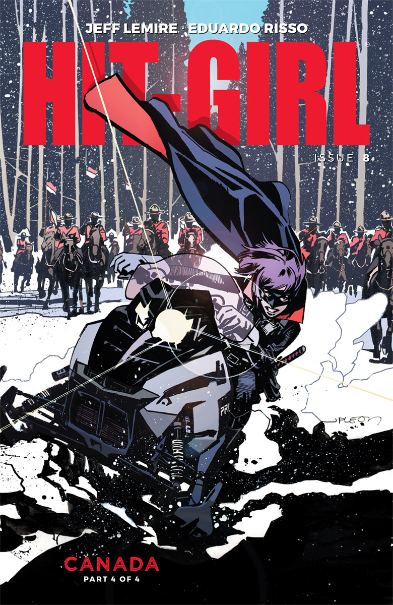 HIT-GIRL #8 CVR C LEON (MR)