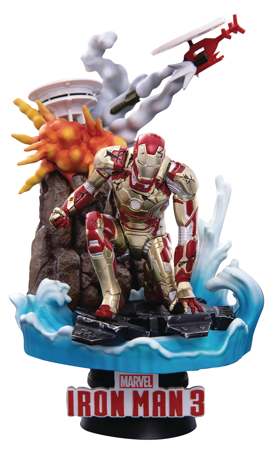 IRON MAN MK42 DS-016SP DREAM-SELECT SERIES PX 6IN STATUE