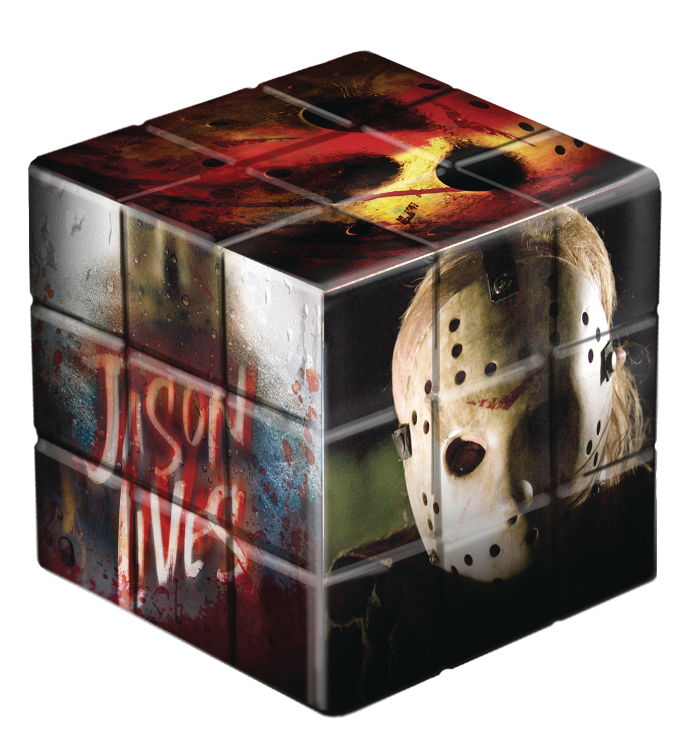 FRIDAY THE 13TH JASON VOORHEES PUZZLE CUBE