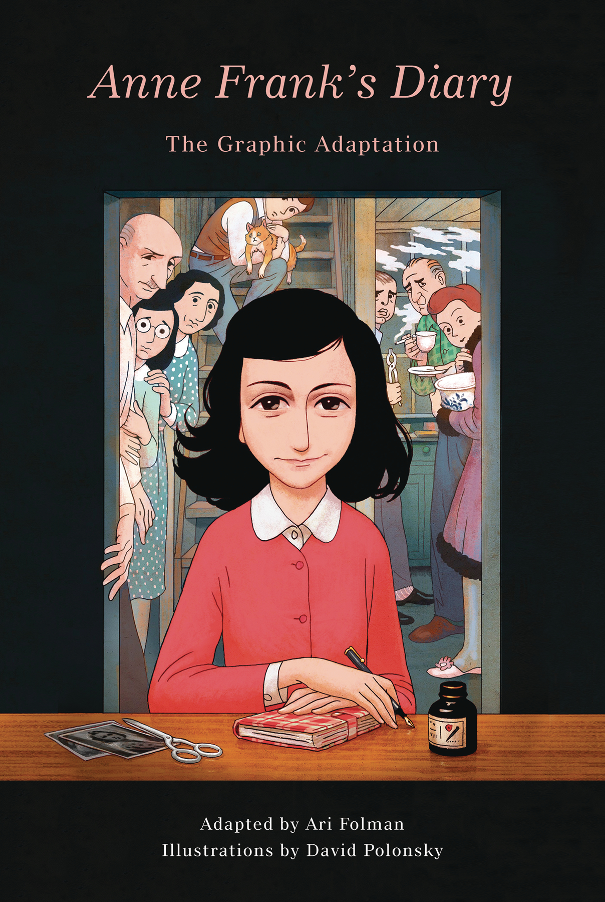 ANNE FRANK DIARY The Graphic Adaptation