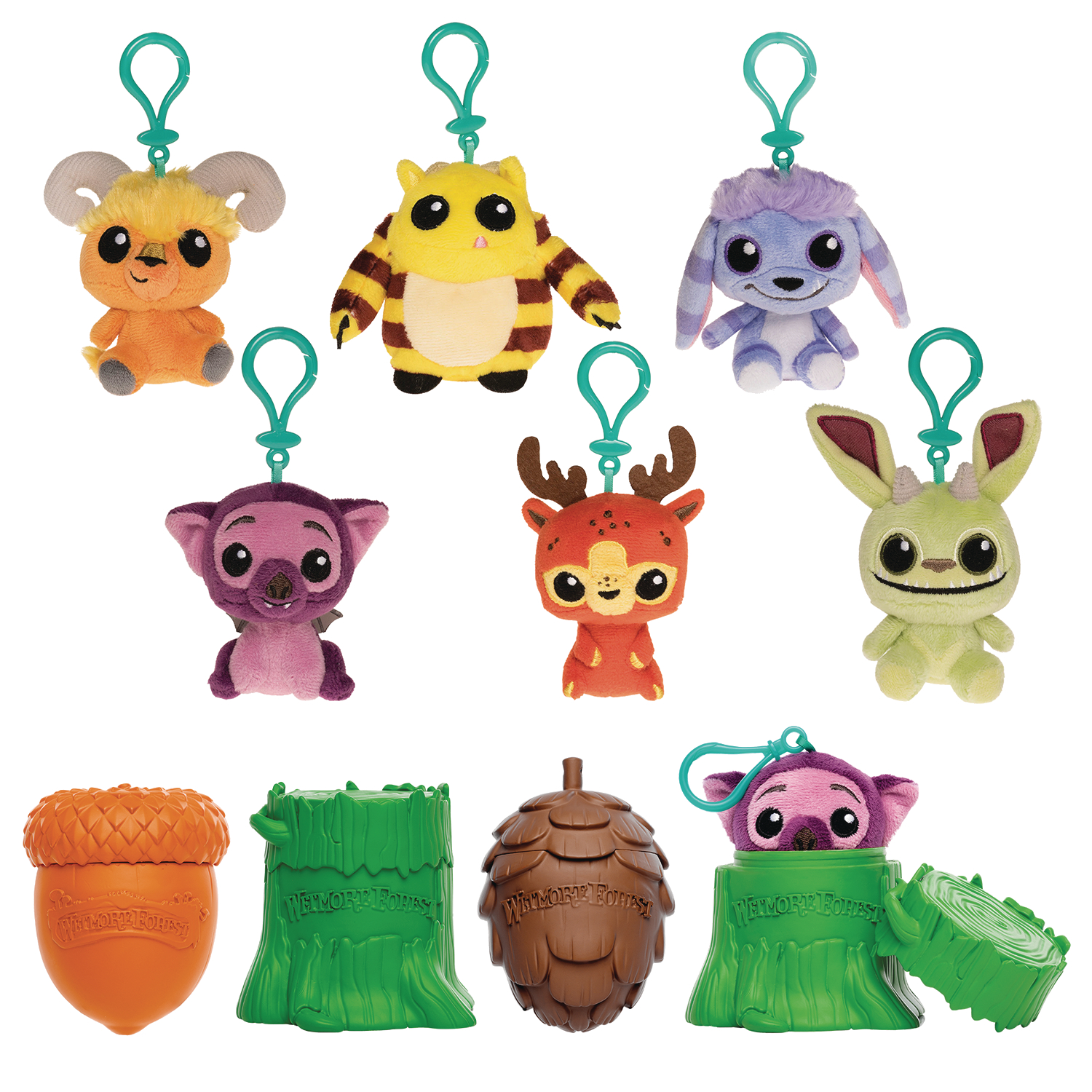 FUNKO MONSTERS 9PC PLUSH KEYCHAIN BMB DISP (Net)