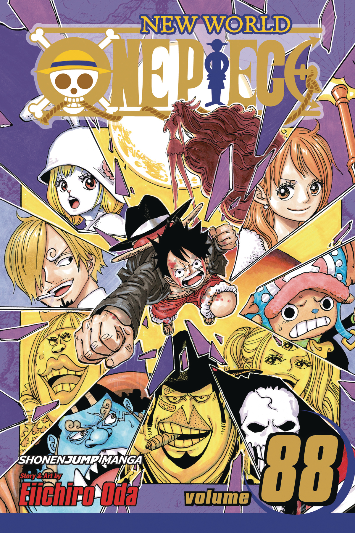 ONE PIECE GN VOL 88