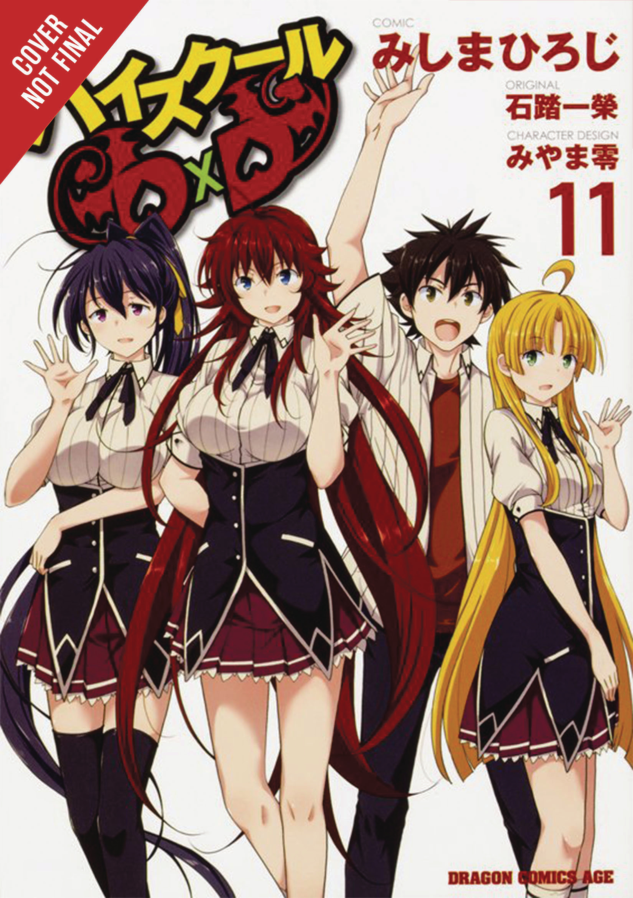 HIGH SCHOOL DXD GN VOL 11 (MR)