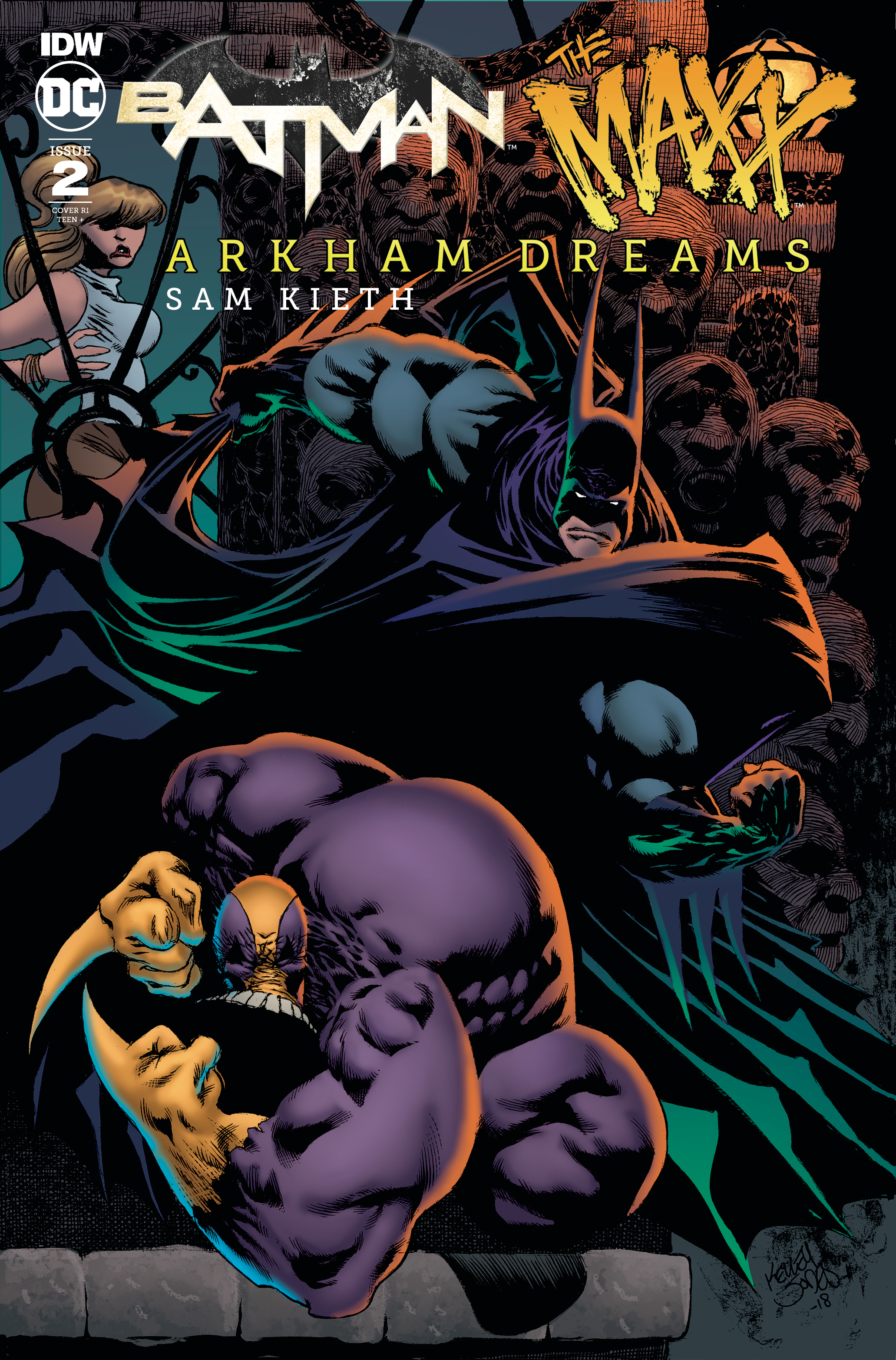 BATMAN THE MAXX ARKHAM DREAMS #2 (OF 5) 10 COPY INCV JONES (