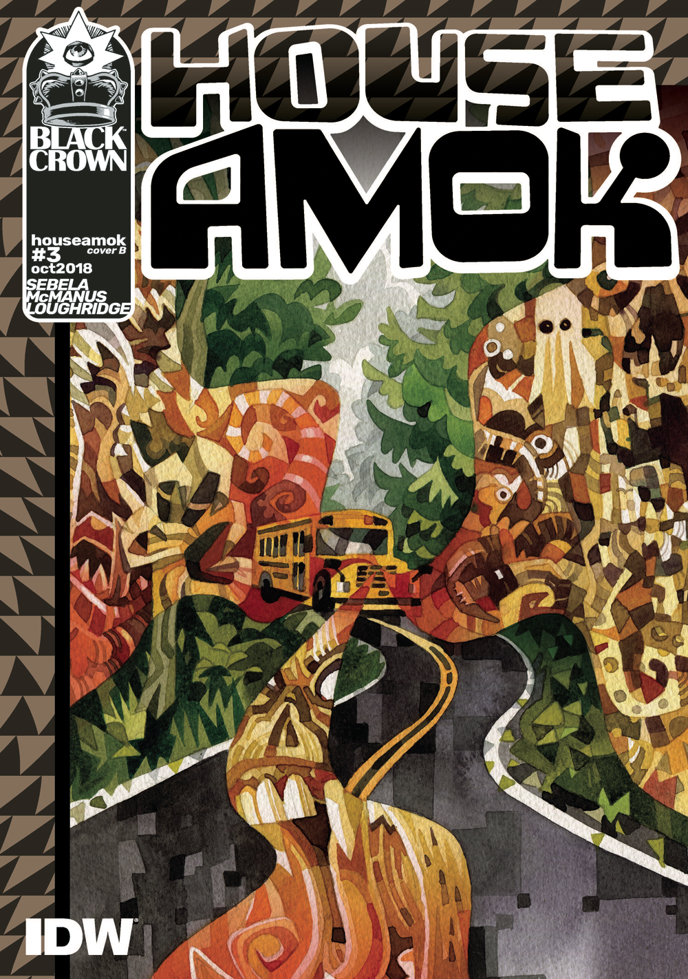 HOUSE AMOK #3 CVR B EDWARDS
