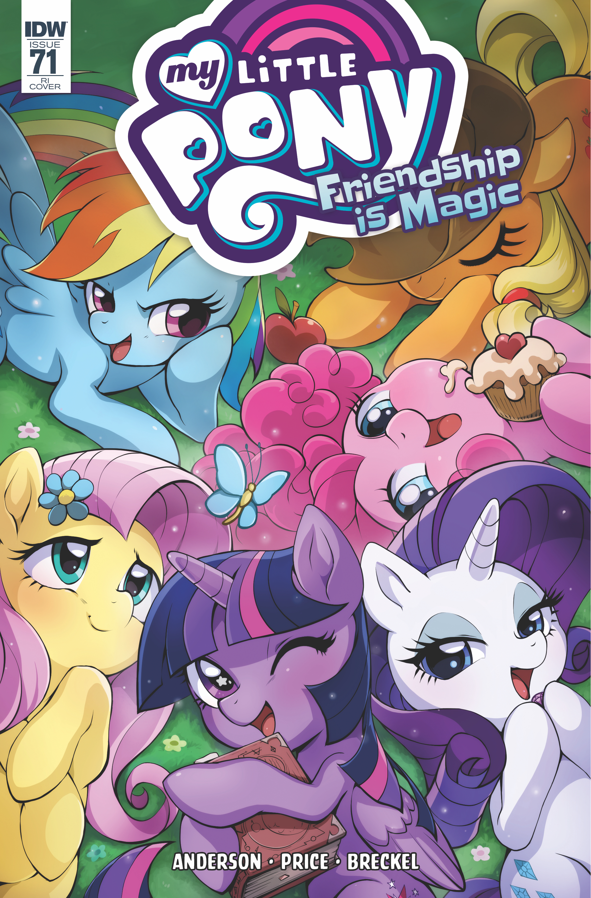 MY LITTLE PONY FRIENDSHIP IS MAGIC #71 10 COPY INCV CIBOS (N