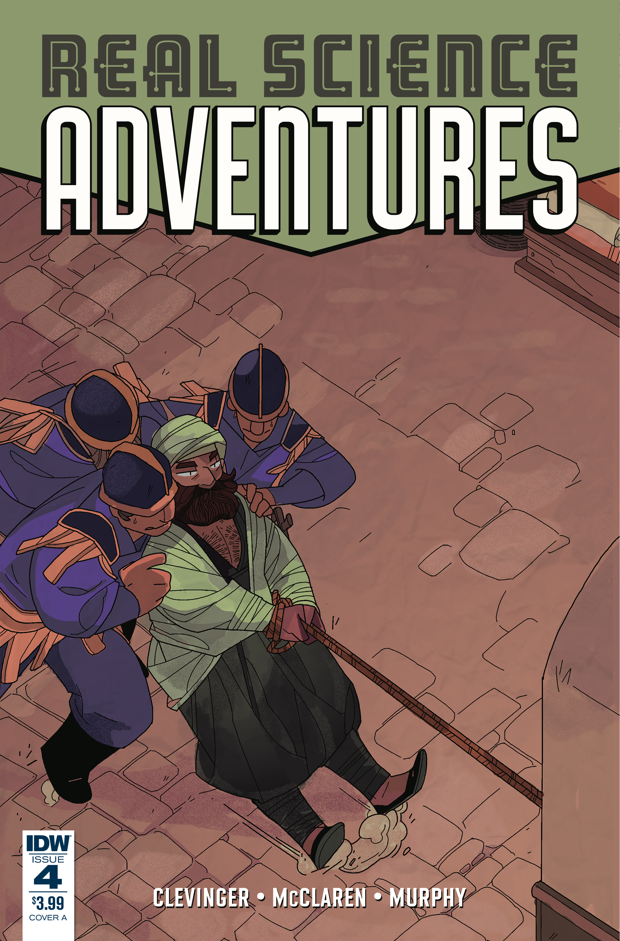 REAL SCIENCE ADVENTURES NICODEMUS JOB #4 CVR A MCCLAREN