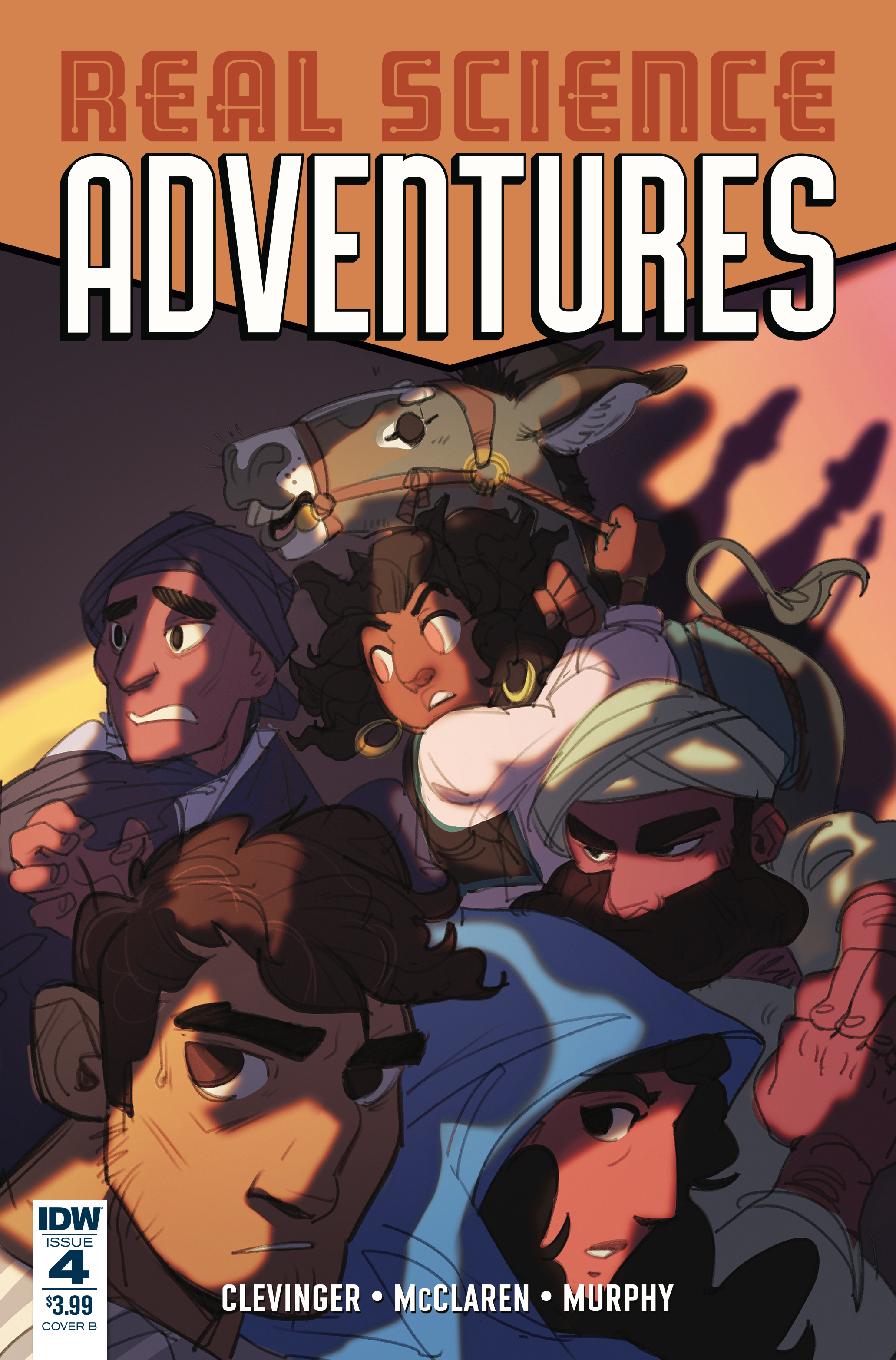 REAL SCIENCE ADVENTURES NICODEMUS JOB #4 CVR B FOLEY