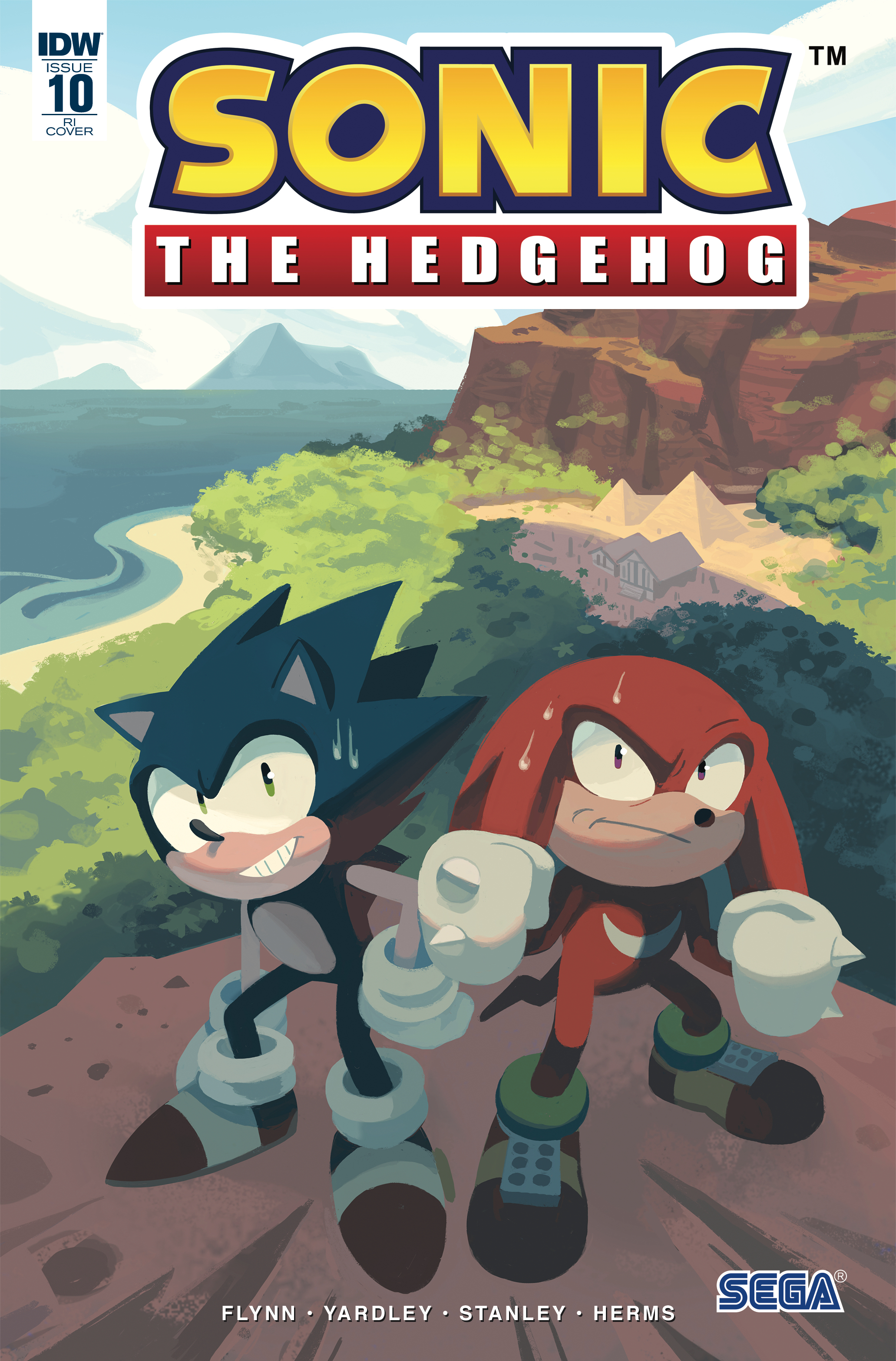 SONIC THE HEDGEHOG #10 10 COPY INCV FOURDRAINE