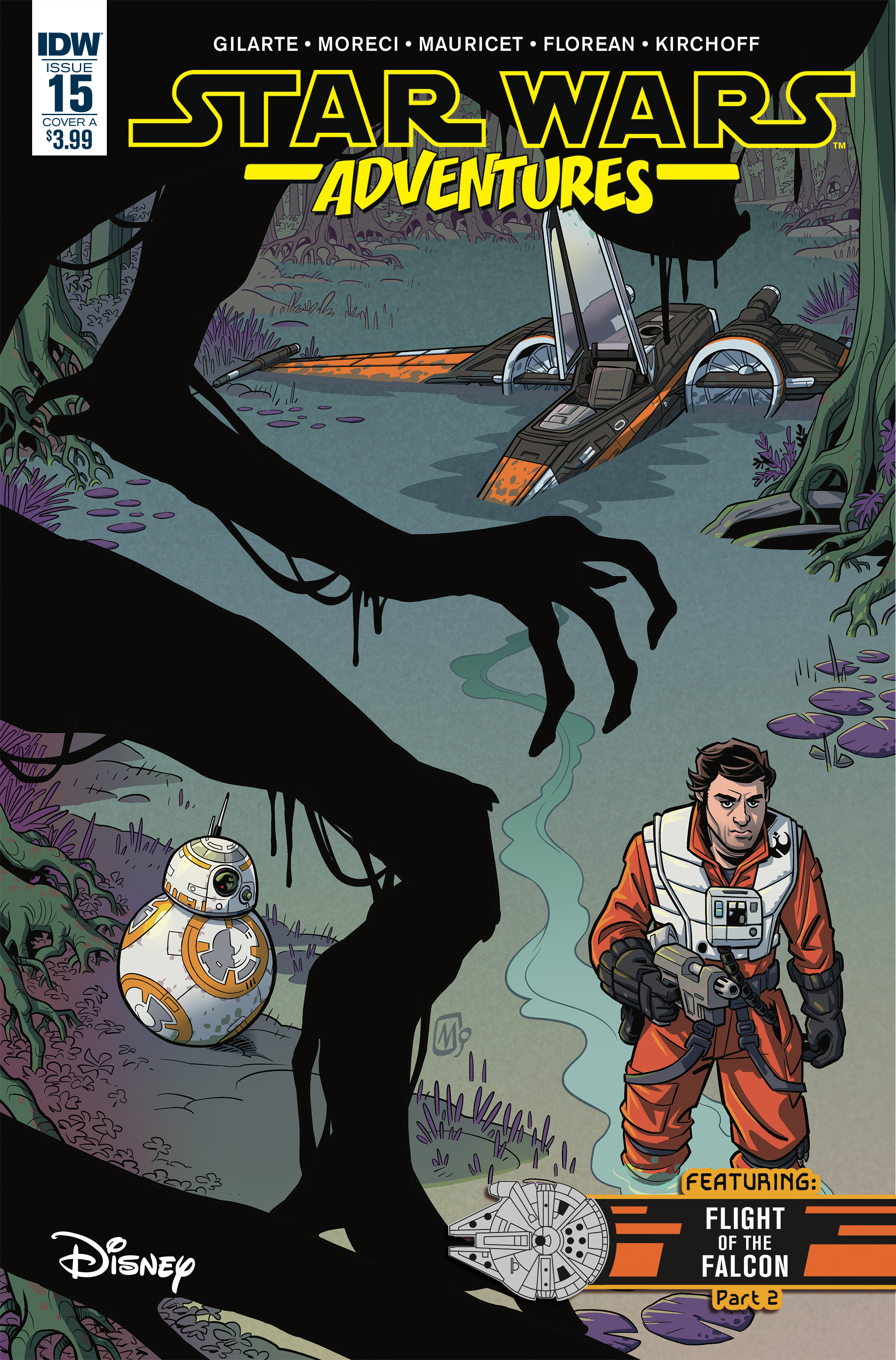 STAR WARS ADVENTURES #15 CVR A MAURICET