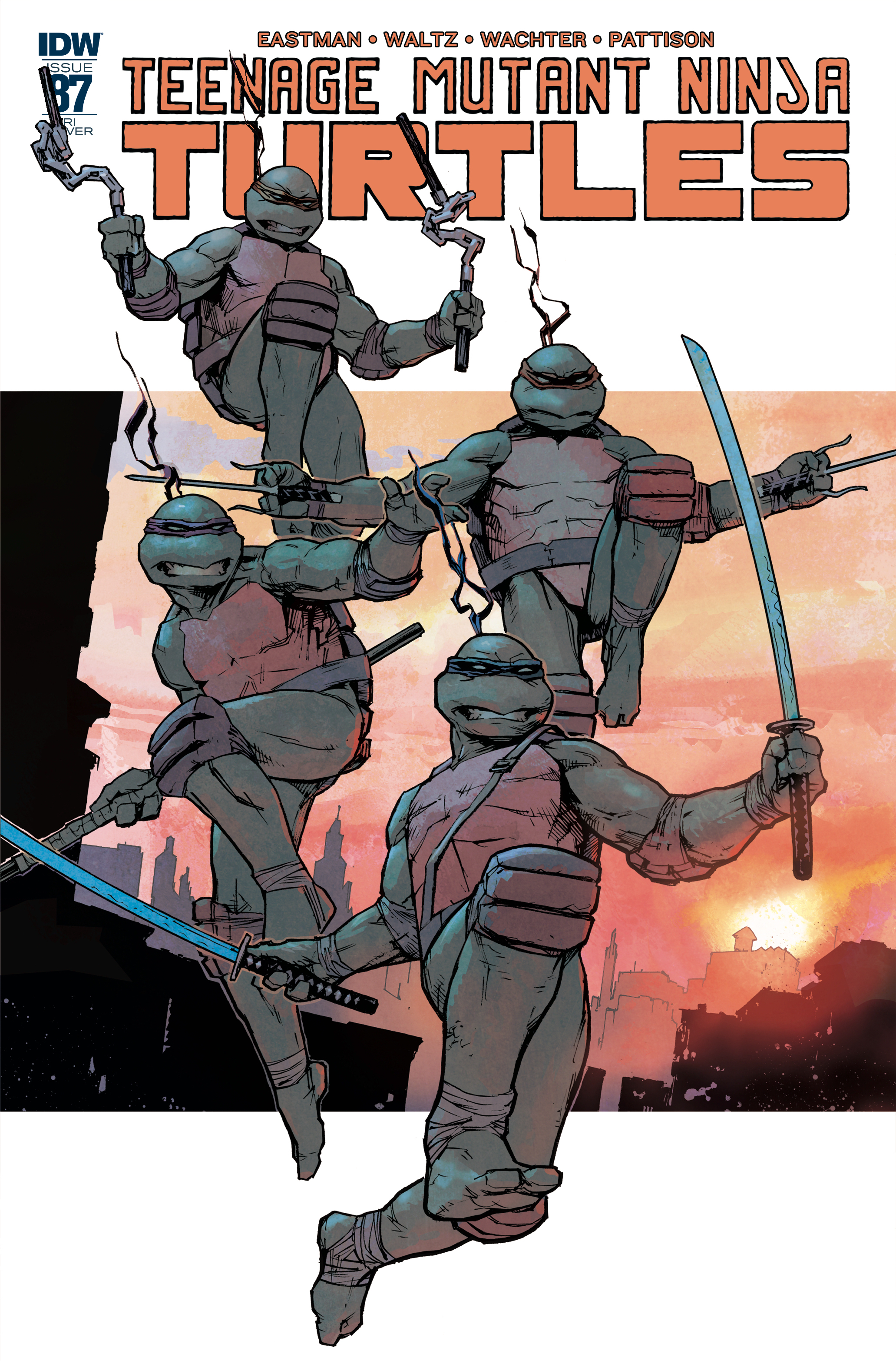 TMNT ONGOING #87 10 COPY INCV DOWLING