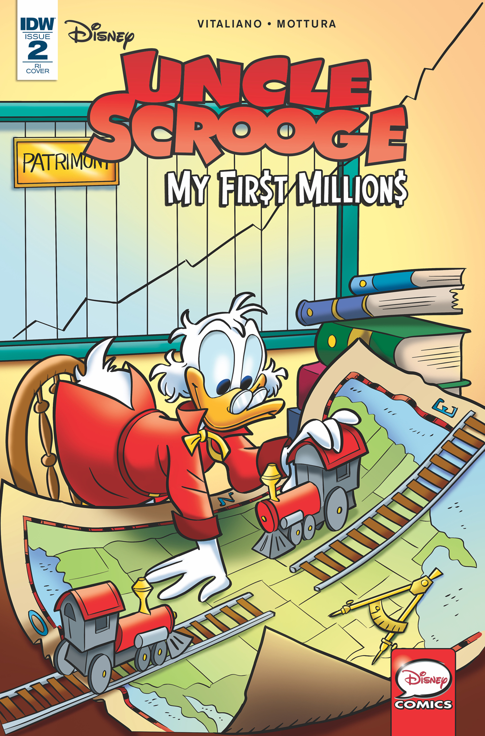 UNCLE SCROOGE MY FIRST MILLIONS #2 (OF 4) 10 COPY INCV GERVA
