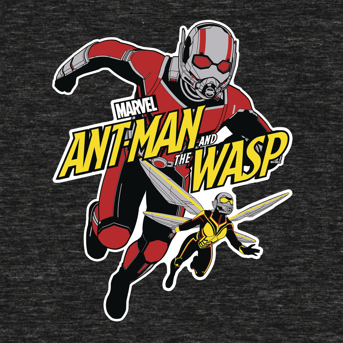 MARVEL ANT-MAN & WASP ATTACK T/S LG