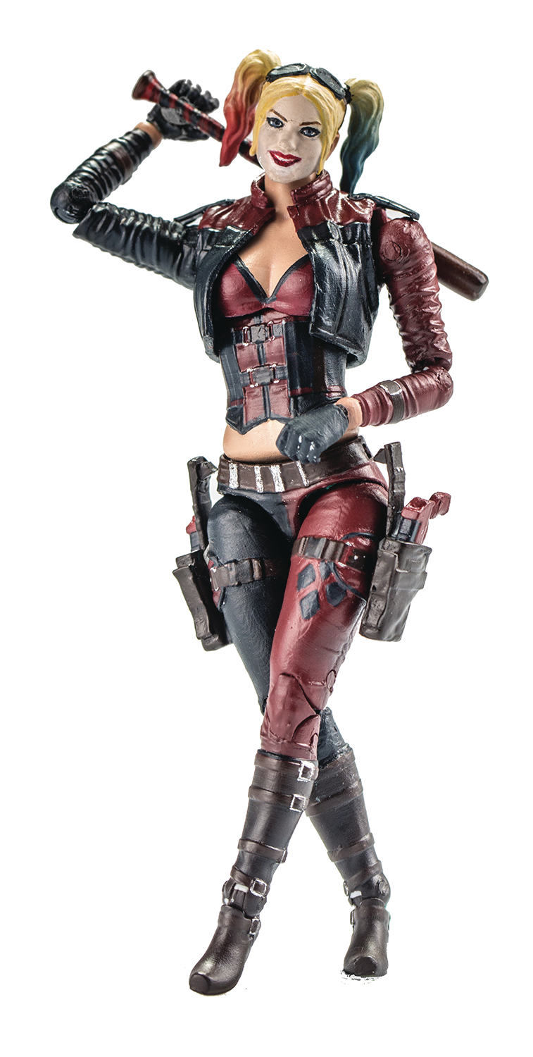 INJUSTICE 2 HARLEY QUINN PX 1/18 SCALE FIG