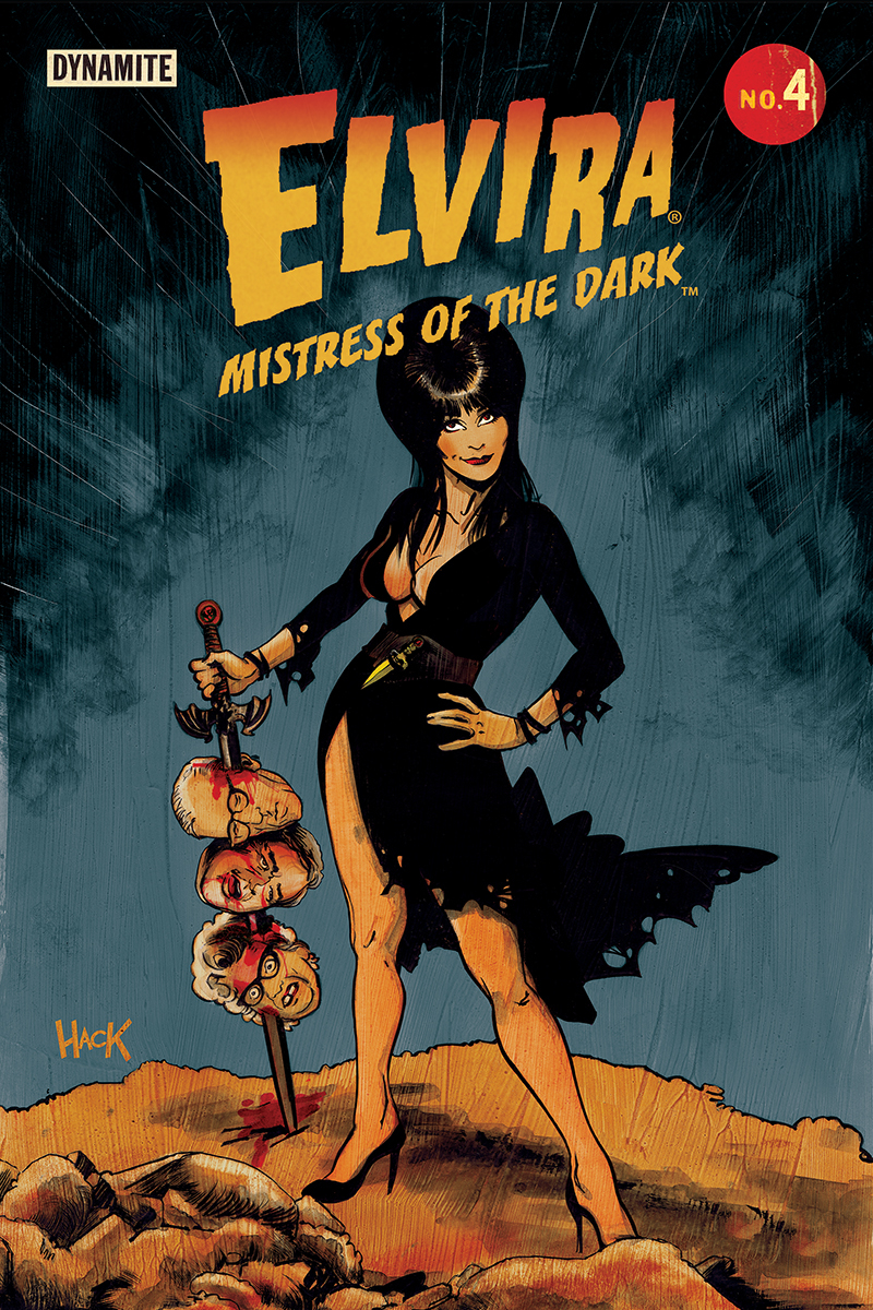 ELVIRA MISTRESS OF DARK #4 CVR C HACK
