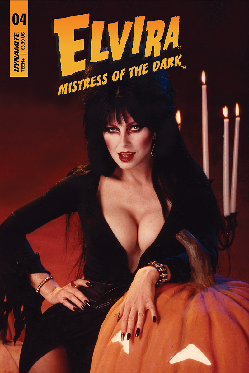 ELVIRA MISTRESS OF DARK #4 CVR D PHOTO SUB VAR