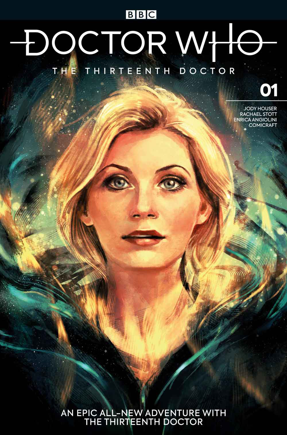 DOCTOR WHO 13TH #1 CVR C ZHANG