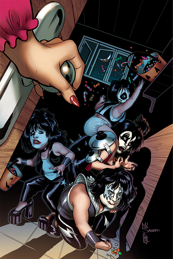 KISS BLOOD AND STARDUST #5 1:20 Sayger Virgin Art Variant Dynamite Comic Book