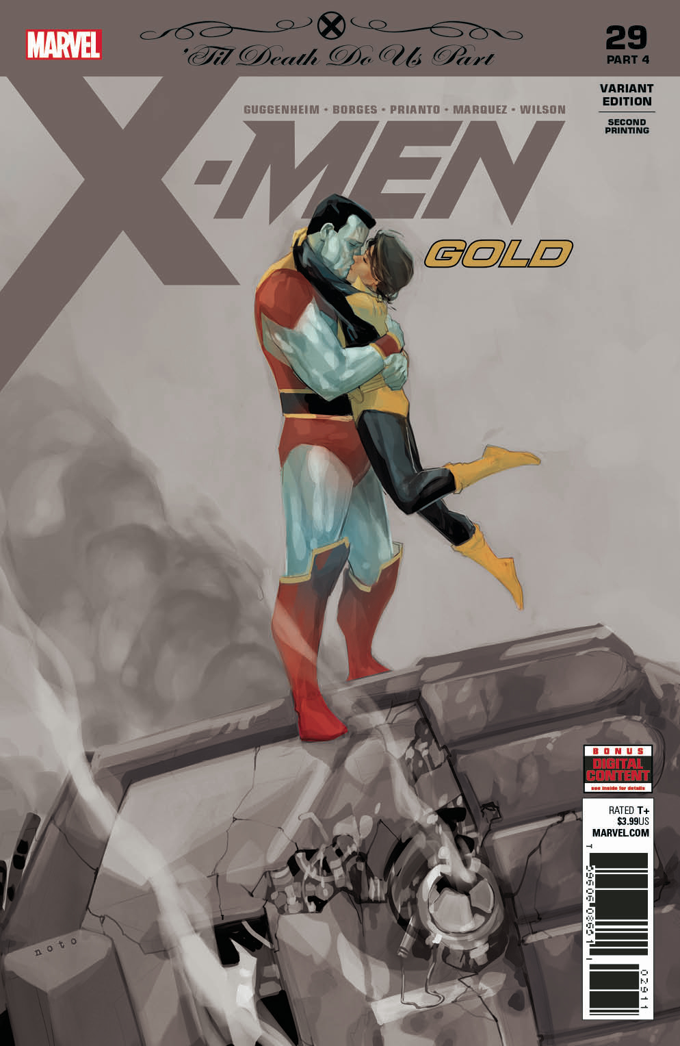X-MEN GOLD #29 2ND PTG NOTO VAR
