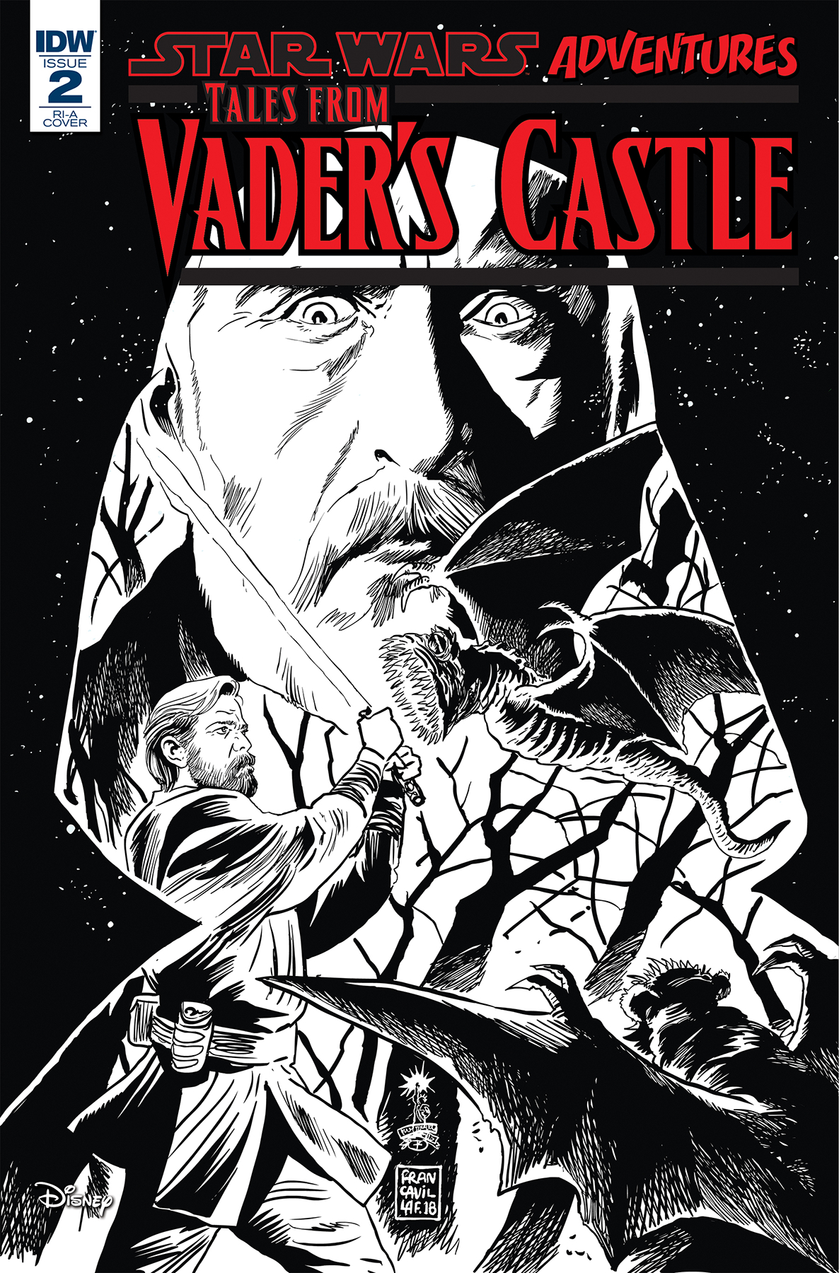 STAR WARS TALES FROM VADERS CASTLE #2 (OF 5) 10 COPY INCV FR