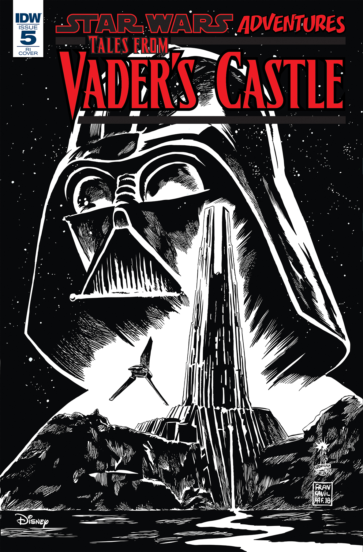 STAR WARS TALES FROM VADERS CASTLE #5 (OF 5) 10 COPY INCV FR