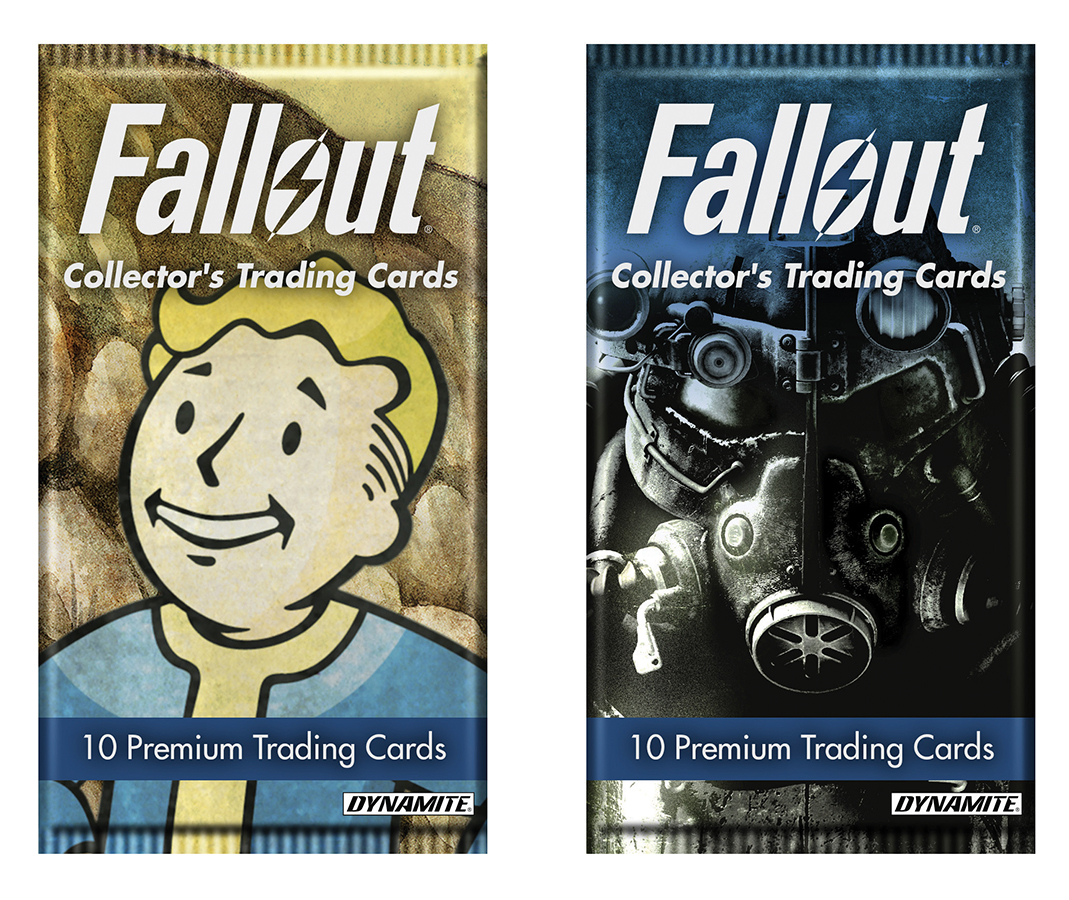 FALLOUT TRADING CARD FOIL PACK CASE